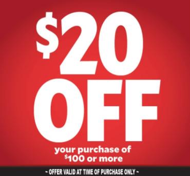 CONGRATS! YOU WON $20 OFF YOUR NEXT ORDER…