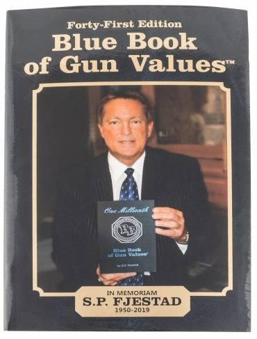 BLUE BOOK PUBLICATIONS BLUE 00041 MBLUE BOOK OF GUN VALUES 41ST EDITION – 609068000412 121650